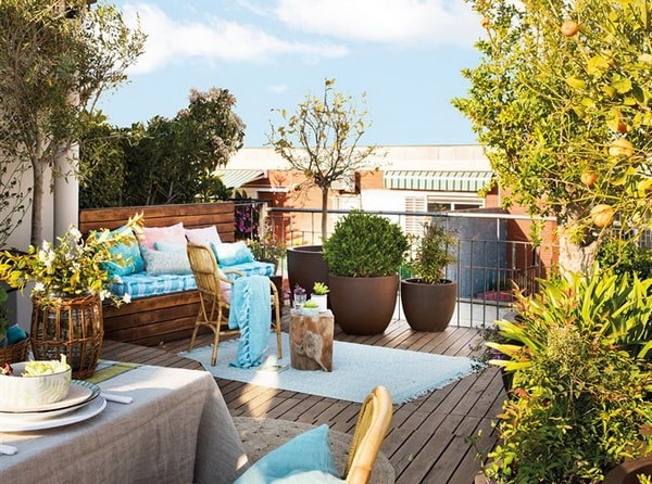 Ideas for small terraces