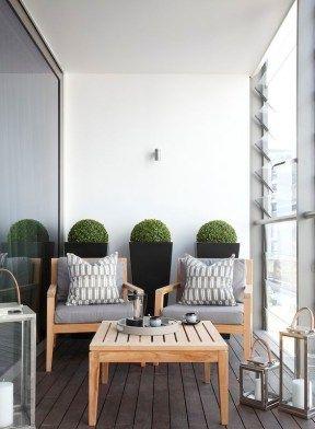 Charming small balconies