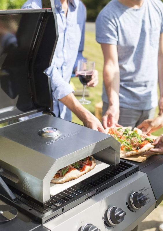 gas barbecue ovens