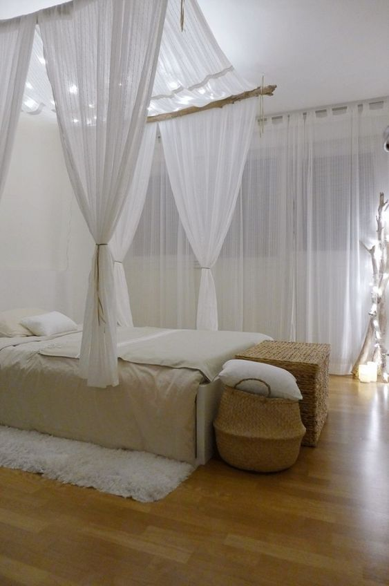 make a canopy for the V bed