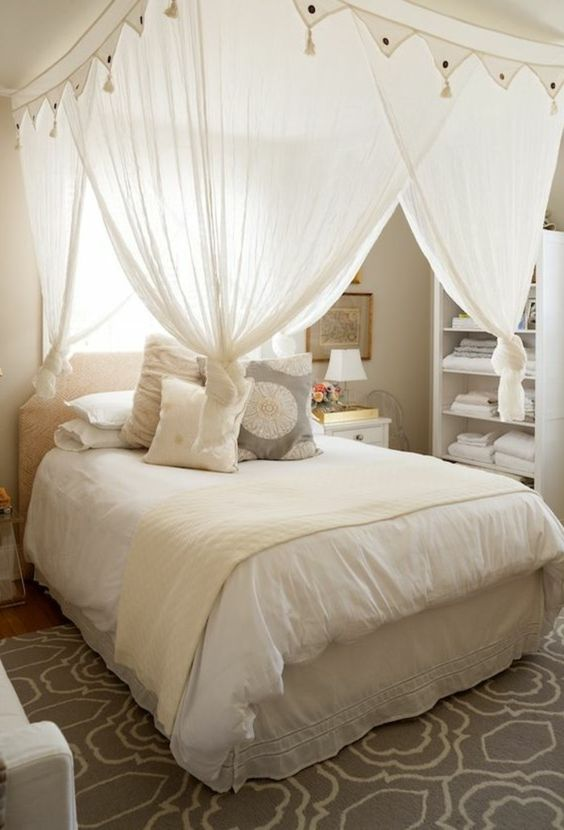 make a canopy for bed VII