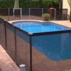 Fencing for removable pools