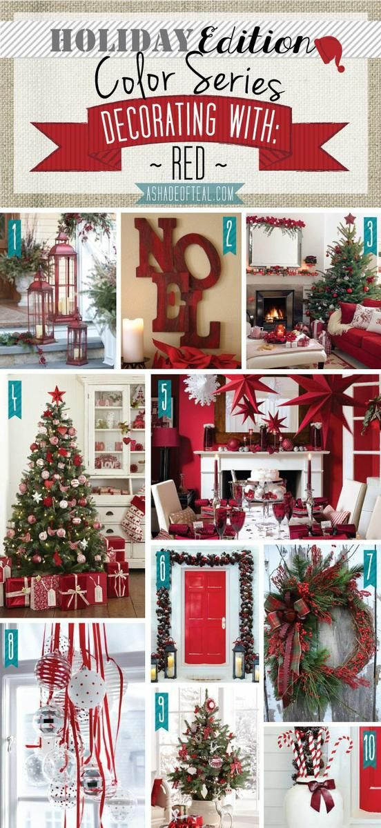 Seasonal Colors for Painting the House at Christmas