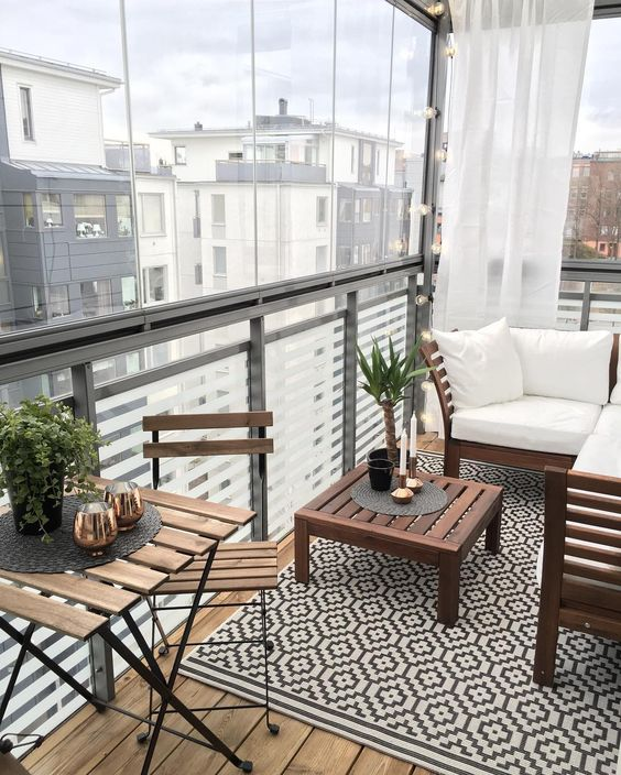 Terraces or balconies ideal for your home