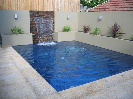 Modern small pools