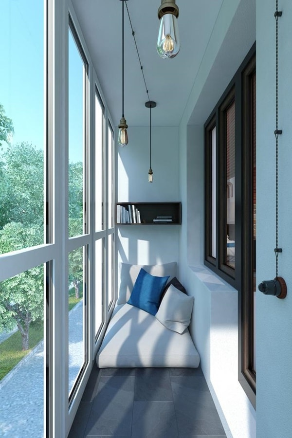 Ideas for small closed balconies
