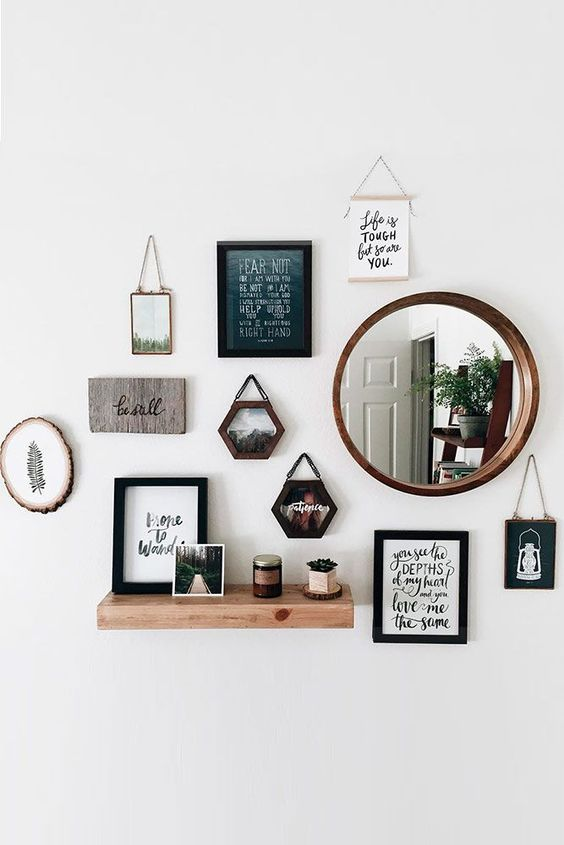 decorate with round mirrors III
