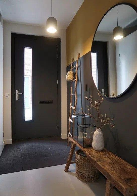 decorate with IX round mirrors