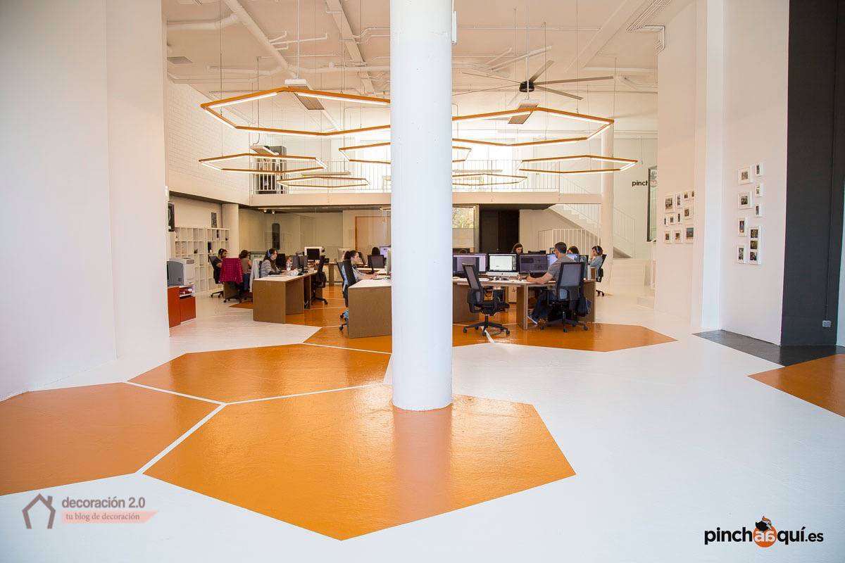 a large office space to work in
