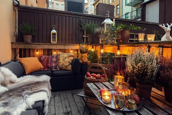Autumn Decoration for Terraces