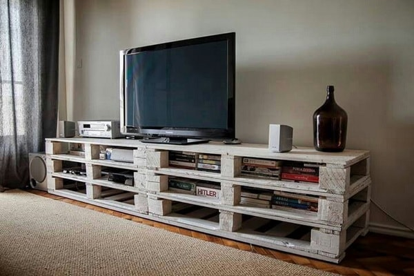 TV furniture made with pallets