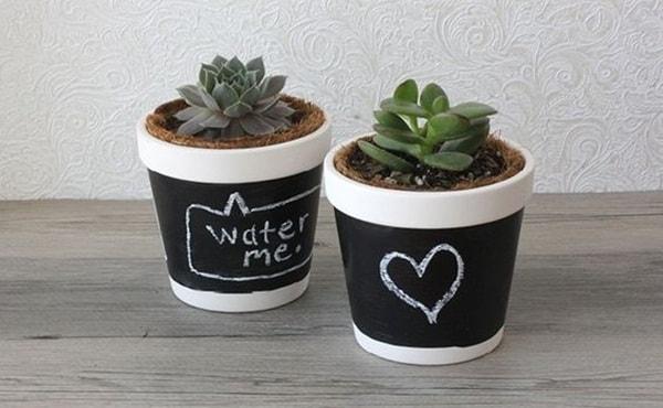 Slate pots
