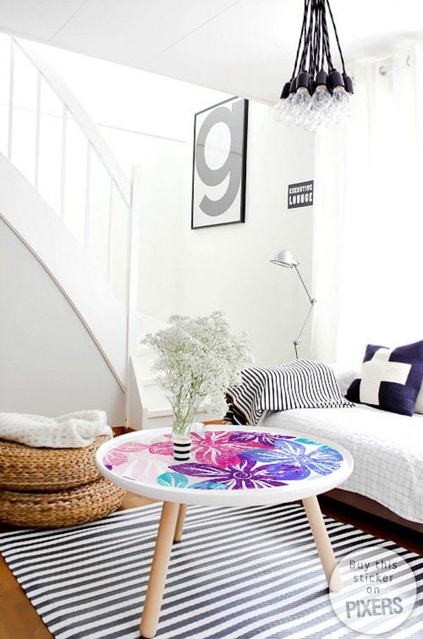 Vinyl for furniture