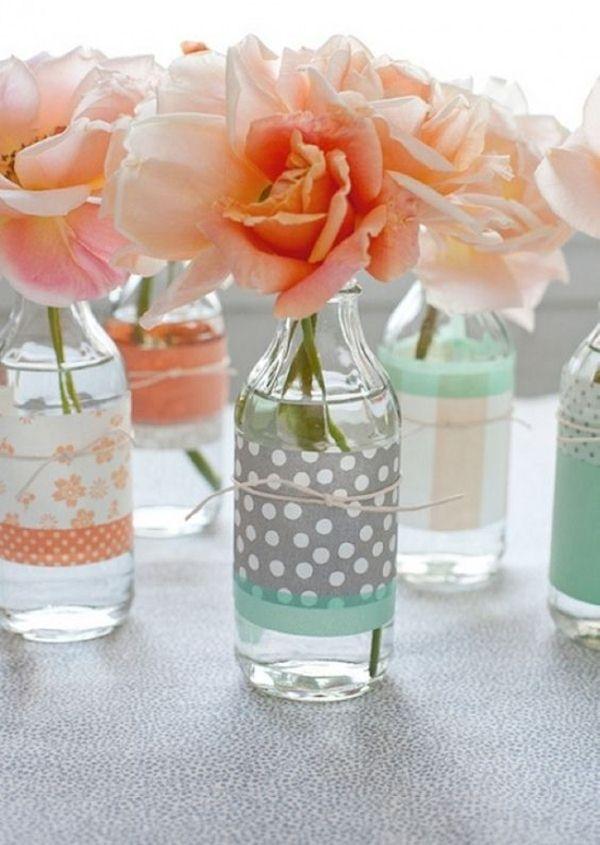 Homemade vases