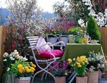 Stylish balconies