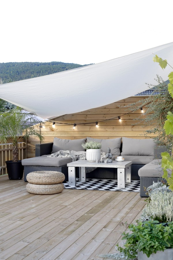 Enjoy your terrace in autumn