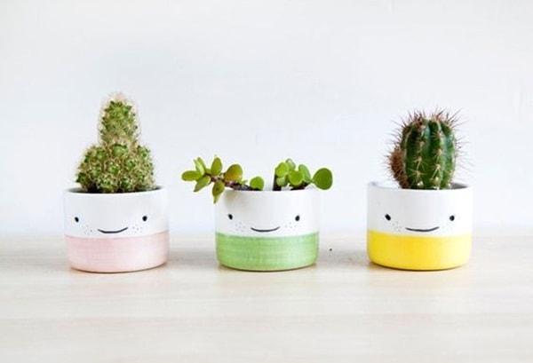 Homemade pots