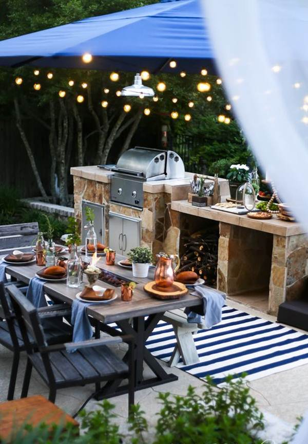 Grill areas for inspiration