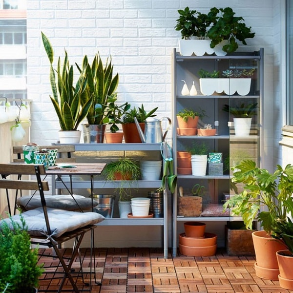 More ideas to decorate balconies