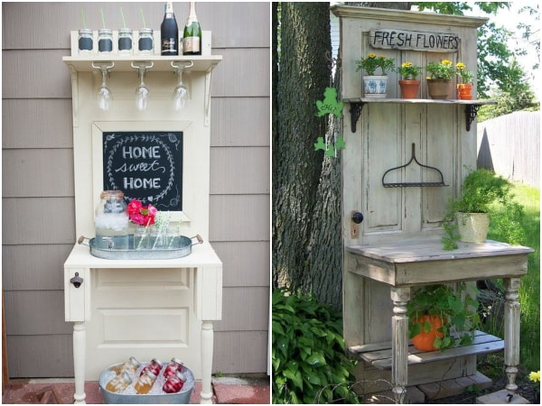 How to recycle old doors
