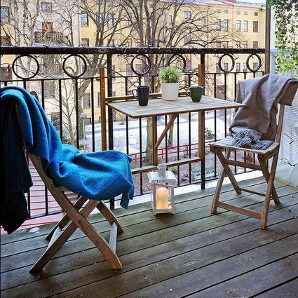 Tips for decorating small balconies