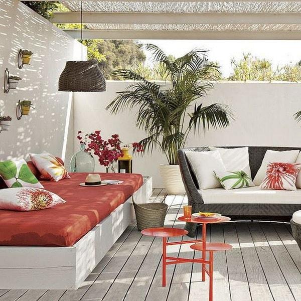 Wood in terraces