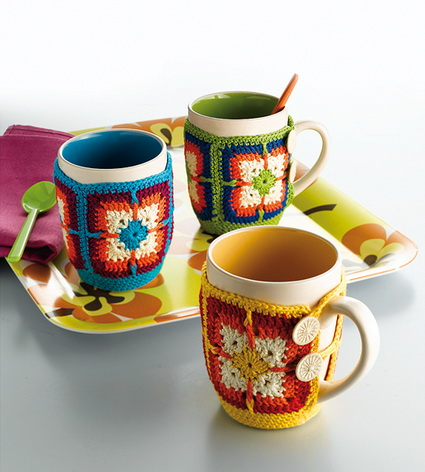 Crochet Cup Covers