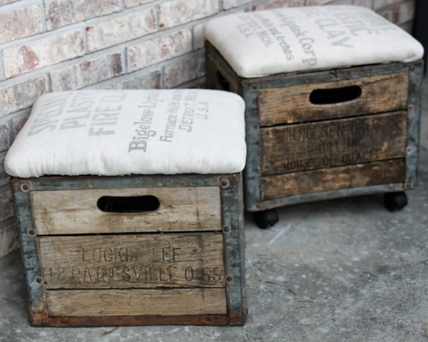 Wooden boxes for decoration