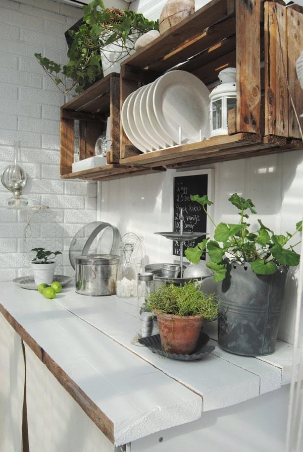 Low Cost Kitchen Storage