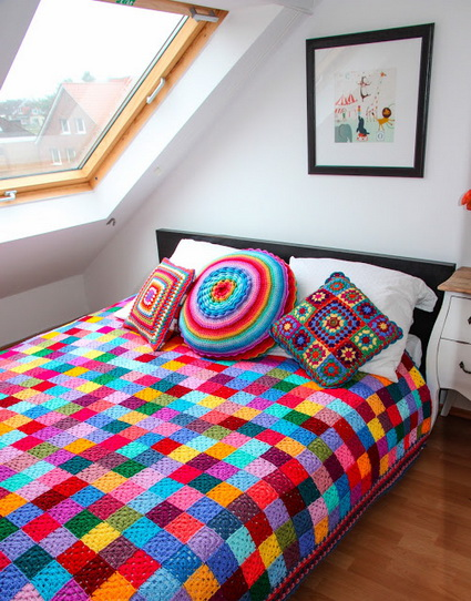 Ideas for decorating with crochet