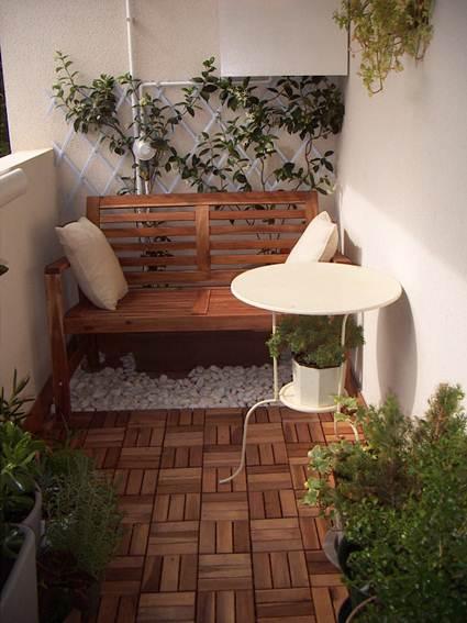 Indoor terraces