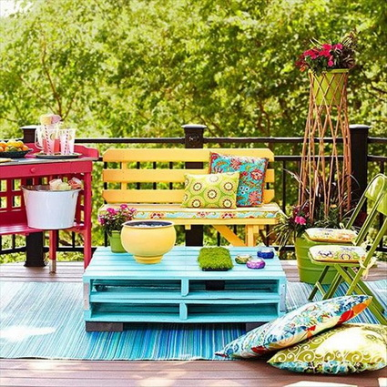 Ideas with outdoor pallets