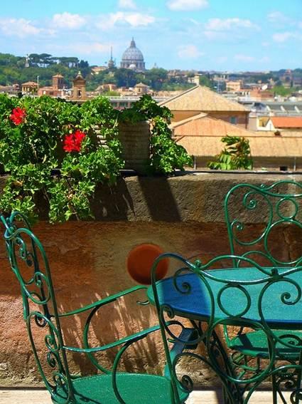 Vintage terrace