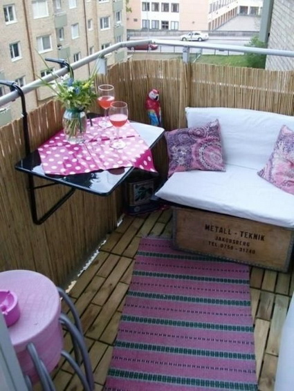 Ideas for a small balcony