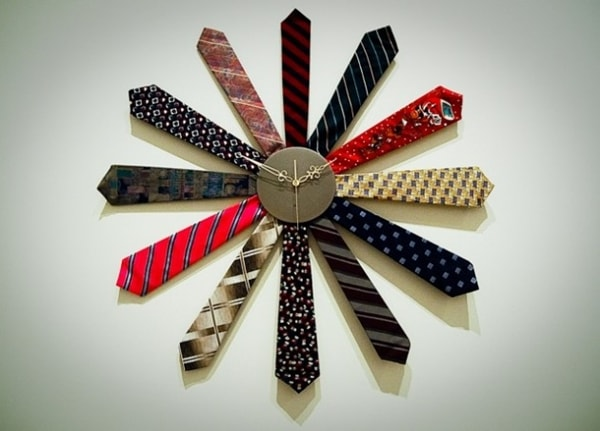 DIY watch with ties