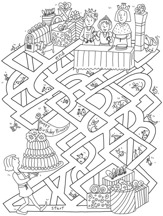 colouring pictures with children VIII