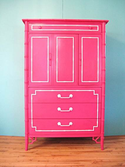 furniture painted with colors 5