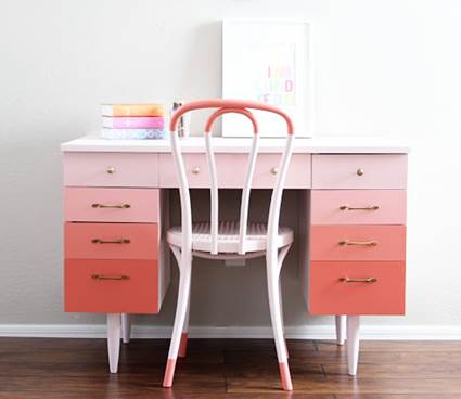 furniture painted with colors 7