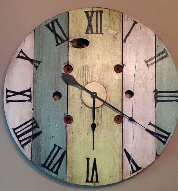 Original homemade wall clocks