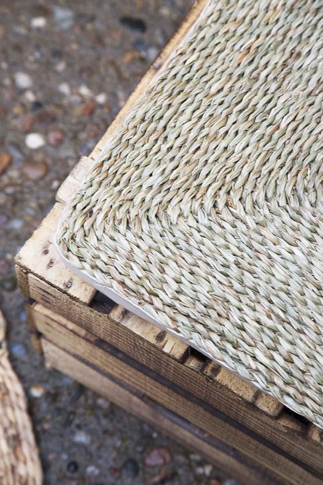 easy recycling ideas, pallets, fiber mats