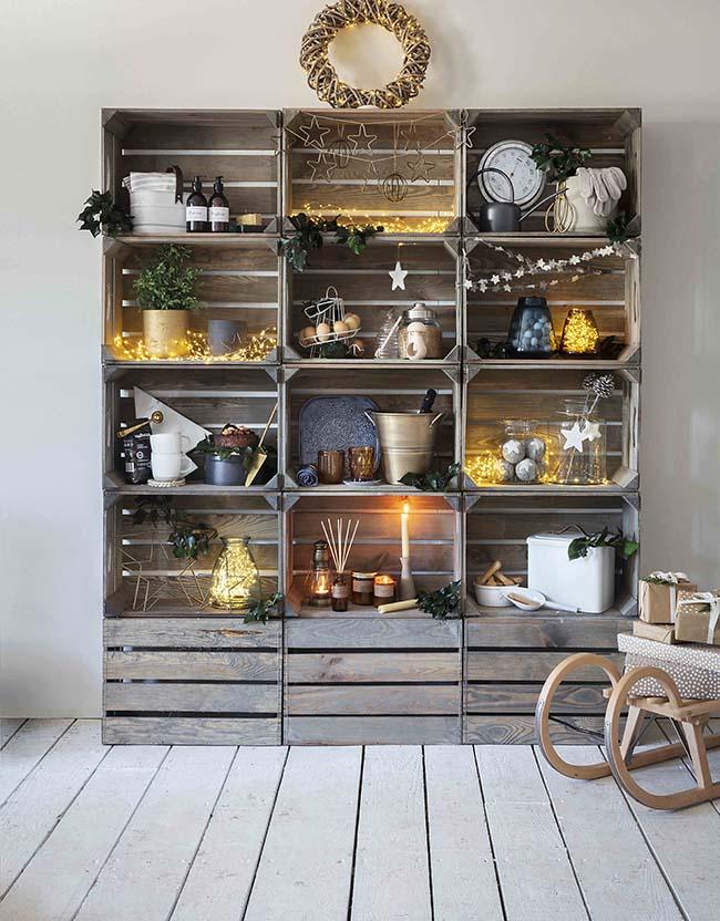 easy recycling ideas, box rack