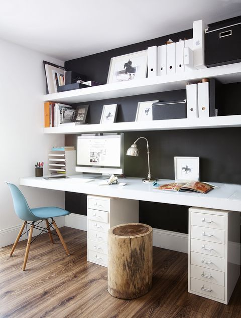 working area in anthracite grey