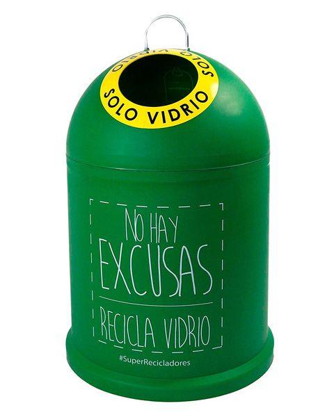 Igloo glass recycling bin