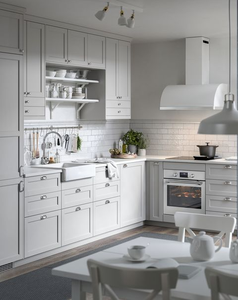 grey rustic style kitchen from the new ikea 2021 catalogue
