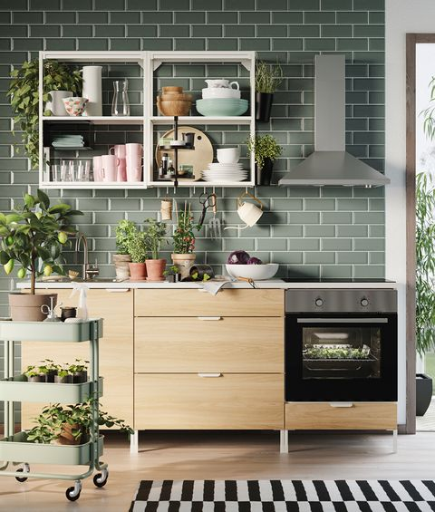 kitchen from the new ikea 2021 catalogue