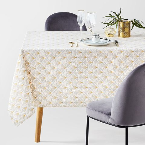 redoute stain-resistant tablecloth