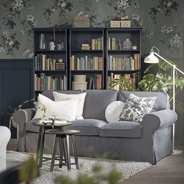 room decorated in grey
