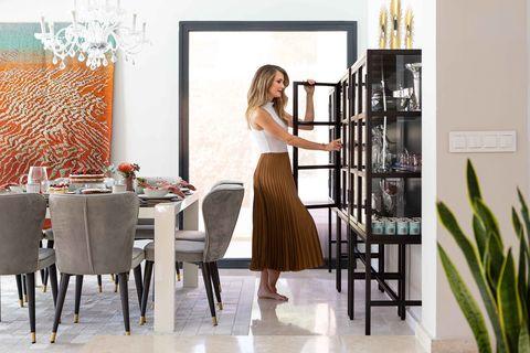contemporary design dining room
