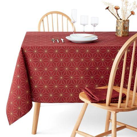 christmas print tablecloth