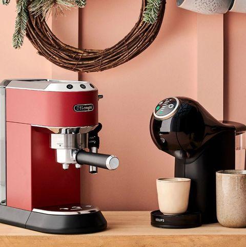 De'longhi and krups espresso machines from el corte inglés